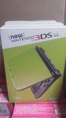 new NINTENDO 3DSLL 本体 ライム×ブラック 新品未開封