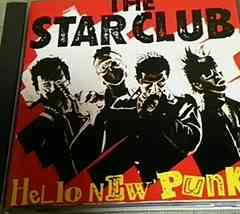 CD THE STAR CLUB HELLO NEW PUNKS スタークラブ