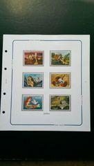 ディズニー『ピノキオ・バンビetc. 』未使用ガーナ発行切手6種