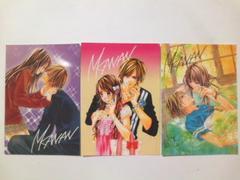 今日、恋をはじめます(水波風南)生写真3枚セット 少女コミック Sho-Comi