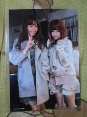 送料込み島崎遥香&小嶋陽菜前しか向かねえ店舗特典生写真