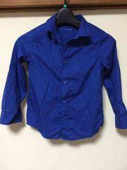 H&M/シャツ/110cm/ブルー/長袖