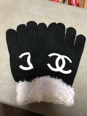 手袋  ブラック