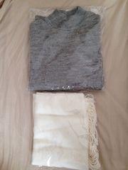 1スタ!新品!earth アースのセーターとマフラーのセット
