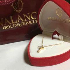 AVALANCHE アヴァランチ 10KYG ネックレス ダイアモンド 0.18ct