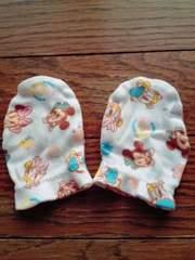 ディズニーベビーミッキーミニーデイジー赤ちゃん用手袋ミトン