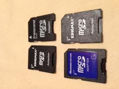 マイクロSD MicroSD →SD アダプター