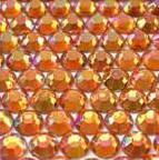 ● 3mm ● デコ用ストーン  2000粒 オレンジ