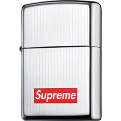 15F/W Supreme Engraved Zippo �W�b�|�[���C�^�[BoxJSB�o��
