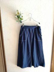 chocol raffine robe☆デニム風スエットスカート