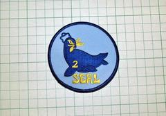 U.S.Navy SEAL TEAM 2 �p�b�`�E�V�i