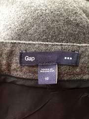 大きいサイズ GAP 暖かウールタイトスカート シンプル使いやすい