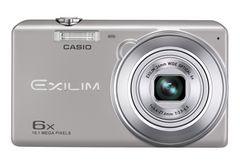 ☆CASIO デジタルカメラ EXILIM EX-ZS20SR シルバー