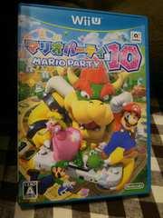 Wii Uゲームソフト★マリオパーティ10
