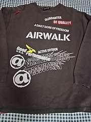 [古着]@airwalk 長袖トレーナー(160�p) (●^o^●)