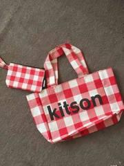キットソン  バッグとポーチセット