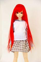 激安★Wigs2dolls★W-695*スーパードルフィー*赤髪*SD*ウィッグ
