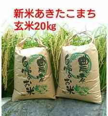 茨城28年産新米あきたこまち玄米20�s