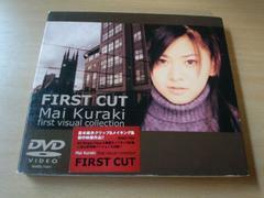 倉木麻衣DVD「FIRST CUT」初回盤●