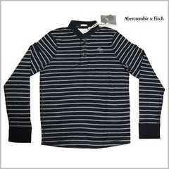 正規新品◆Abercrombie&Fitch長袖ヘンリーシャツ M◆アバクロンビー&フィッチ