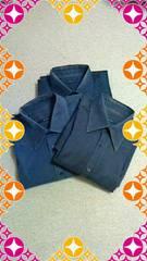 Gucci men'sYシャツ 黒&茶系3着set フォーマル&カジュアル