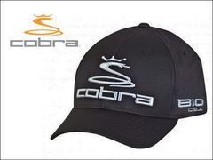 cobra �L���b�v(�q���p) YOUTH PRO TOUR FLEXFIT CBRA2050-BLK