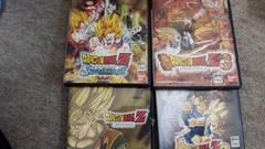 PS2☆ドラゴンボールZシリーズ☆4本まとめ売り♪