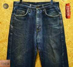 ◆廃盤◆エドウィン405XVワイドストレートW29(83cm)股下70cm
