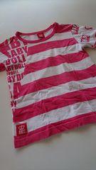 BABY DOLLボーダーTシャツ120