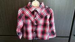 90サイズ 長袖シャツ