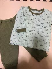 UNIQLO☆キルトパジャマ80☆美品