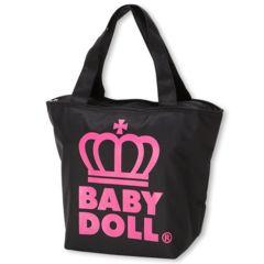 新品BABYDOLL☆ロゴ王冠 保冷トートバッグ ピンク ベビードール