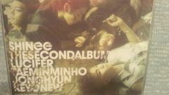 激安!激レア!☆SHINee/LUCIFER☆初回盤/CD+DVD日本正規品!美品!