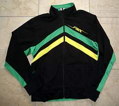 新品FOX RACING‐フォックスレーシングトラッックジャケットM黒緑黄