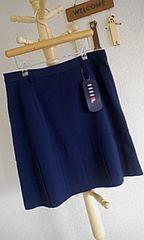 FlLA160cm上品清楚な紺色スカート