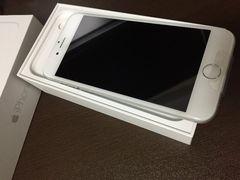新品未使用 au iPhone6 シルバー16GB ガラスフィルム付