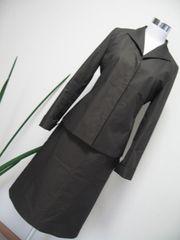 23区 こげ茶スーツ 40.38