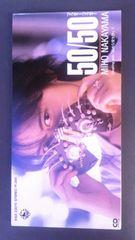 中山美穂、CDシングル50/50