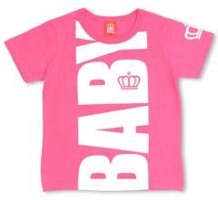 SALE! 新品BABYDOLL☆BIGロゴ Tシャツ 120 ピンク ベビードール