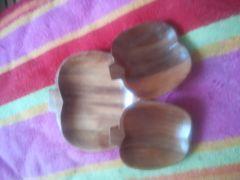 木製平皿3点セット