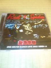 2CD RED SPIDER �ً}���� ONE SOUND DANCE LIVE