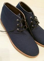 ◆ZARA◆インディゴ靴 27.5