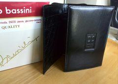 新品未使用 アーノルドバッシーニ イタリア 三つ折れ財布