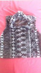 暖かいダウンベストMサイズフリージャケット