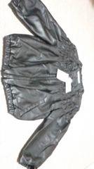 新品七分袖のシャーリングジャケット