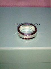 TIFFANY1837コレクションリング8号