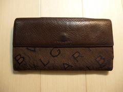 BVLGARI ブルガリ ロゴマニアの三つ折り長財布
