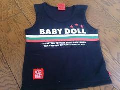 80 BABY DOLL 黒 超美品