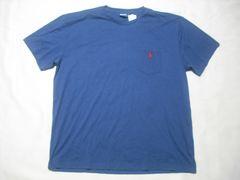 19 男 POLO RALPH LAUREN ラルフローレン 紺 半袖Tシャツ L
