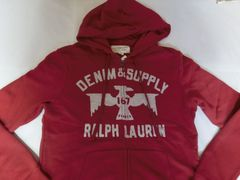 �yRALPHLAUREN DENIM & SUPPLY�z�t���W�b�v�p�[�J�[US �l